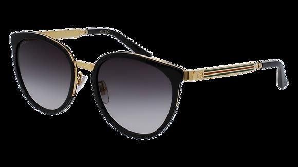 Gucci Women's Designer Sunglasses GG0077SK
