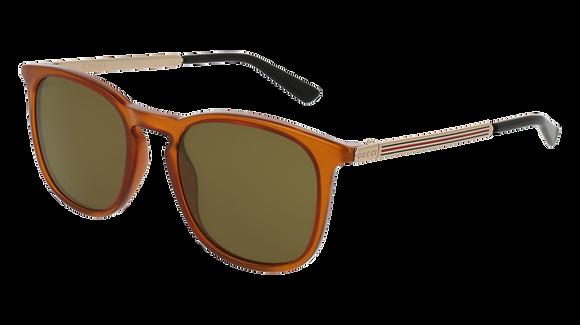 Gucci Unisex Square Sunglasses GG0136S