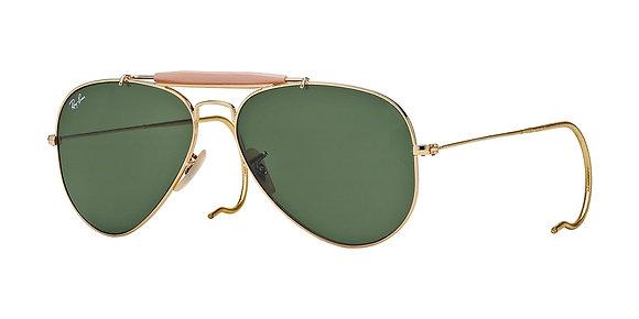 RayBan Men's Designer Sunglasses RB3030
