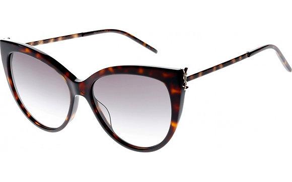 Saint Laurent Woman's Designer Sunglasses SLM48S/K