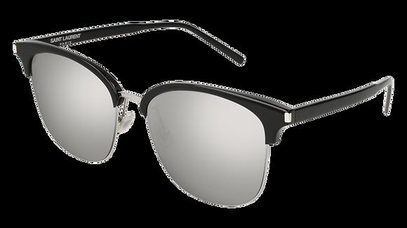 Saint Laurent Unisex Designer Sunglasses SL 201/K SLIM