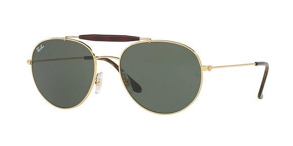 RayBan Unisex's Designer Sunglasses RB3540