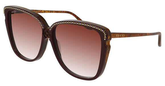 Gucci Woman's Designer Sunglasses GG0709S
