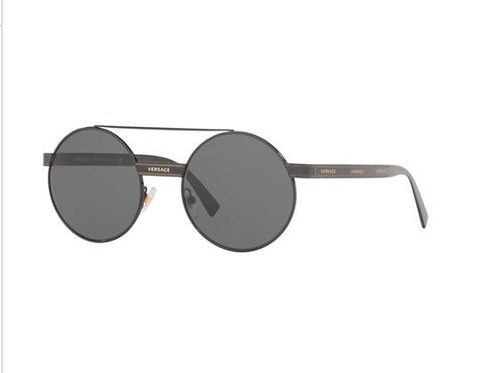 Versace Sunglasses VE2210 Round Metal Frame