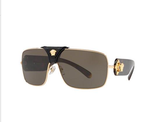 Versace Squared Baroque VE2207Q Sunglasses