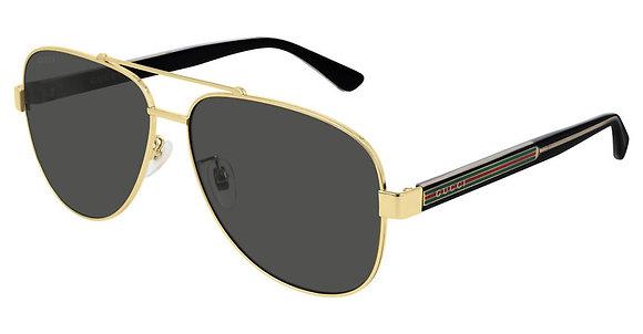 Gucci Man's Designer Sunglasses GG0528S