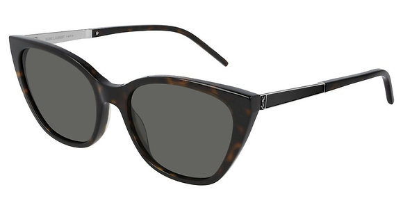 Saint Laurent Woman's Designer Sunglasses SLM69