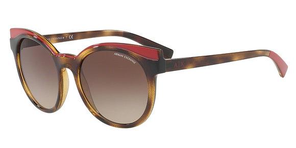 Armani Exchange Women's Designer Sunglasses AX4064SF