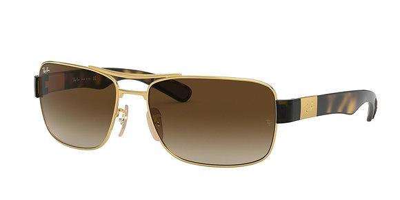 RayBan Men's Designer Sunglasses RB3522