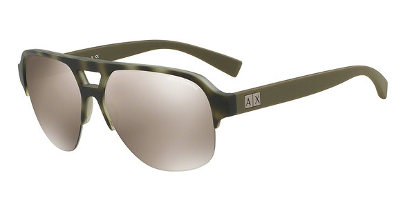 Armani Exchange Men's Designer Sunglasses AX4056S