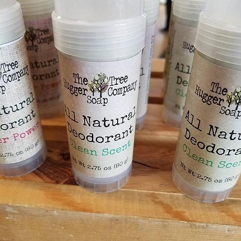 Clean Scent Zeolite Clay Deodorant