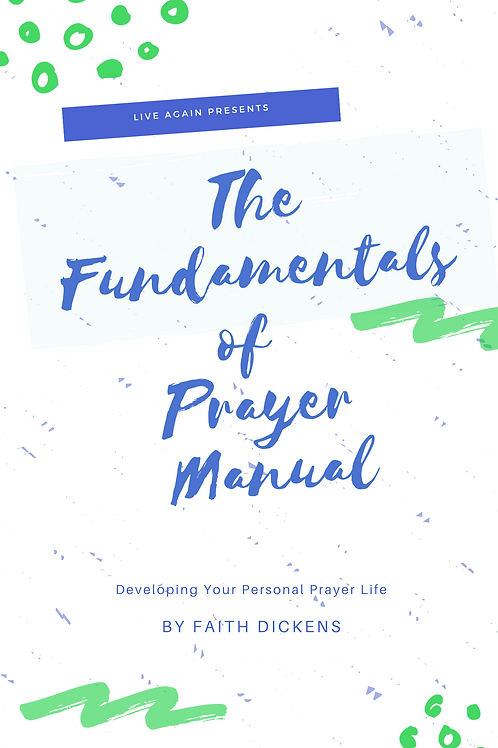 The Fundamentals of Prayer Manual