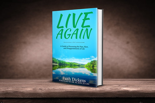 Live Again Book