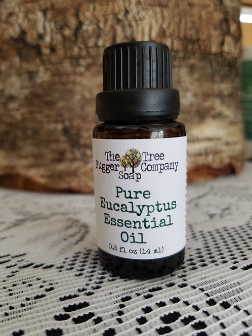 Eucalyptus (Pure Organic Essential Oil)