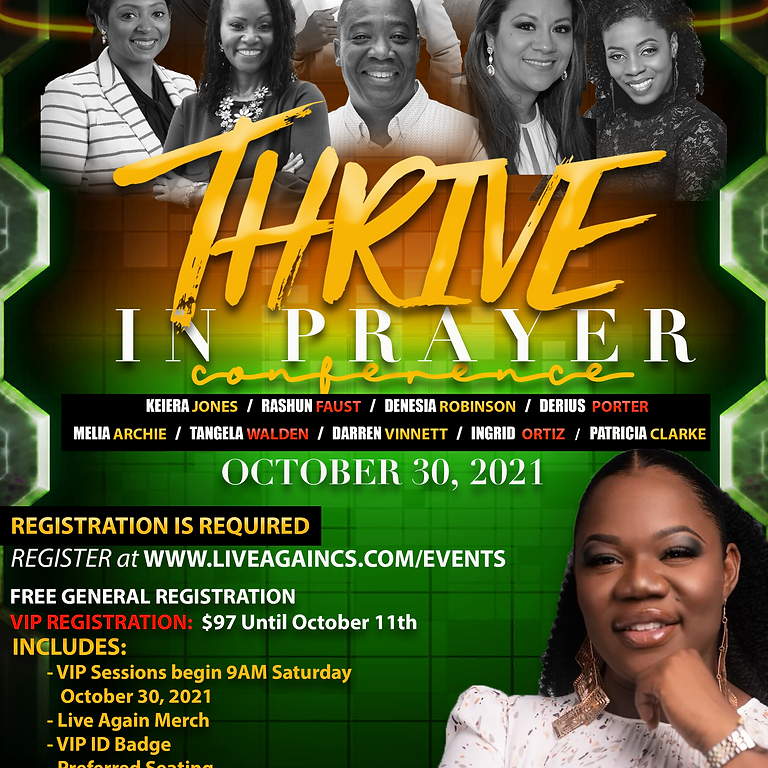 Thrive In Prayer Conference