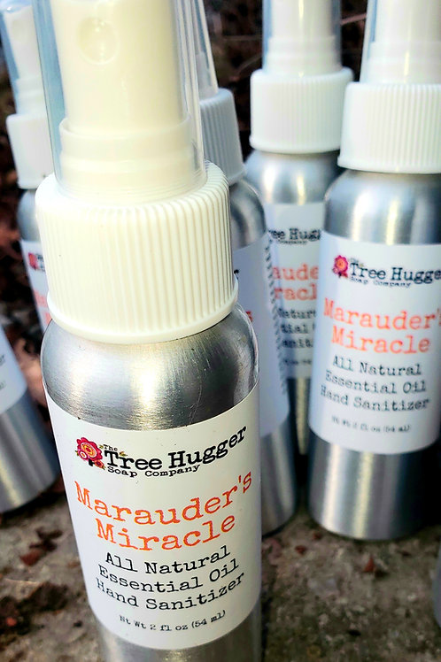 Marauder's Miracle Essential Oil Hand Spray