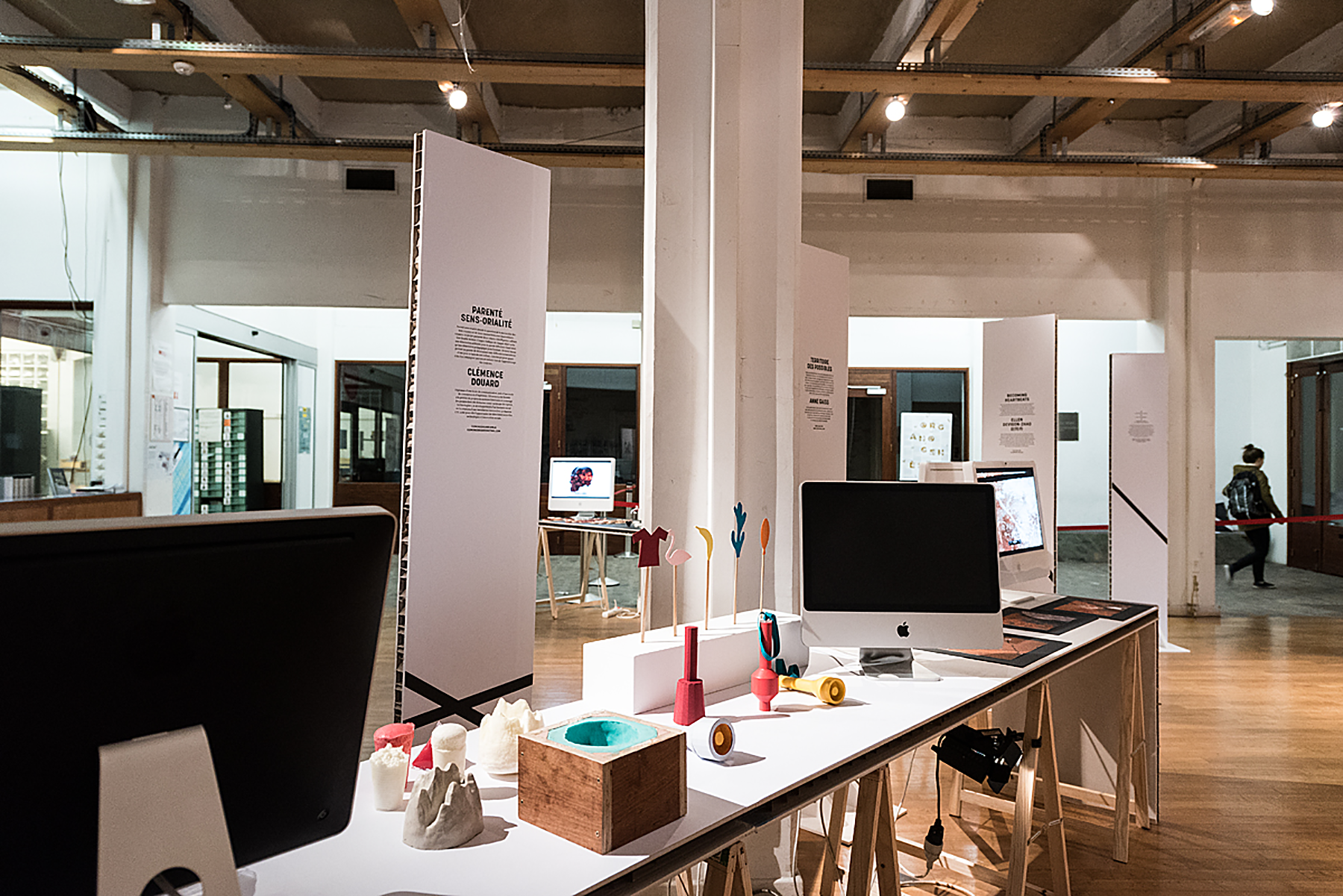 Exhibition scenography
