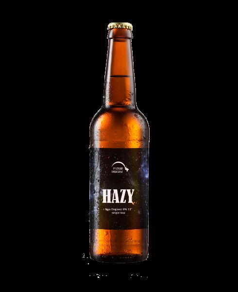Beer bottle Hazy