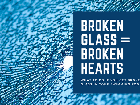 BROKEN GLASS = BROKEN HEARTS