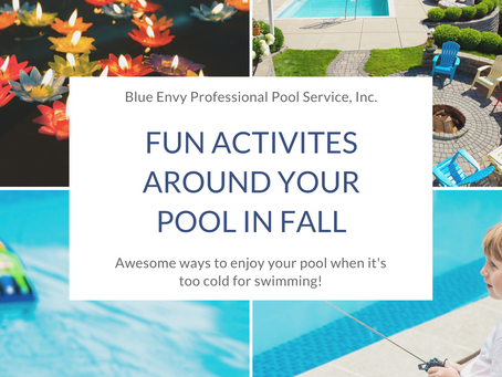 Fun Activities Around Your Pool in Fall