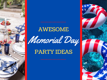 Patriotic Ways to Celebrate Memorial Day Poolside