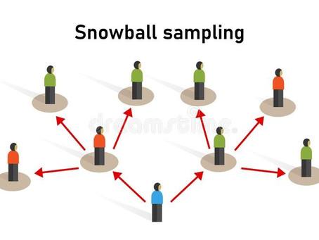 A bola de neve