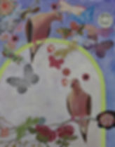 "Love_Doves_3___14""X11""__acrylic-collage_"