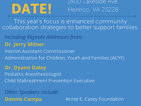 2018 Statewide Virginia Child Abuse Prevention Conference