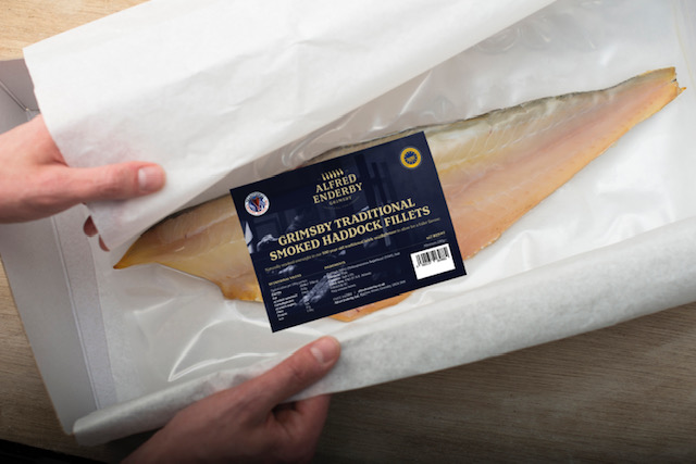 Alfred Enderby smoked haddock