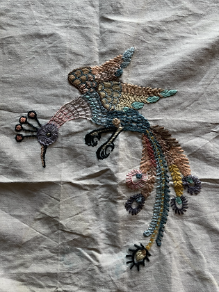 EMBROIDERED PANELS