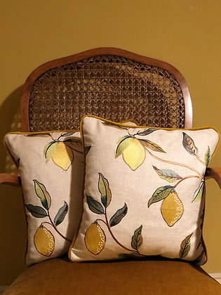 LEMON CUSHIONS