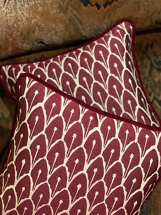 A PAIR OF HECTOR CUSHIONS