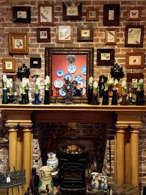 Fisher London fireplace