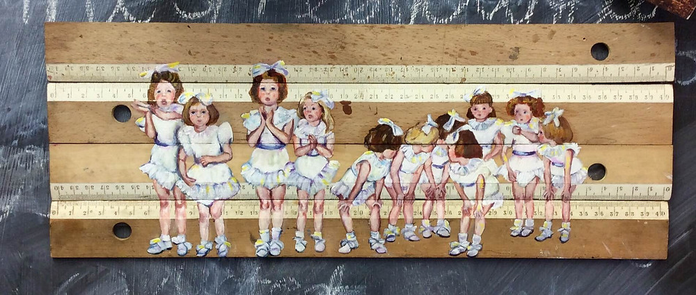 'Chorus Line' by Lindsay Madden