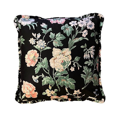 FLORAL WITH BLACK BACKGROUND
