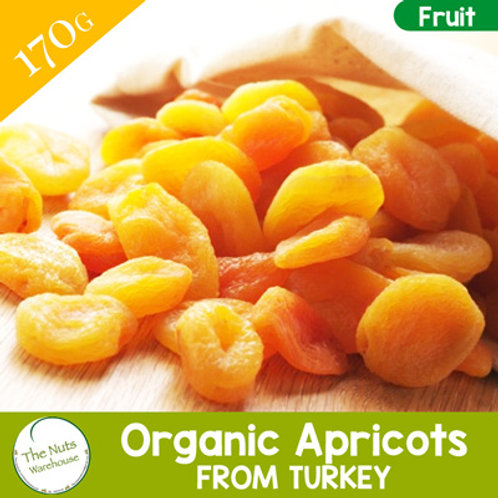 ORGANIC Apricots- 170g