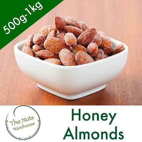 Honey Almonds 500g