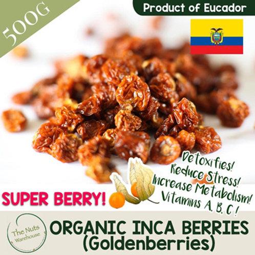 ORGANIC Incaberries (Golden Berries) - 500g