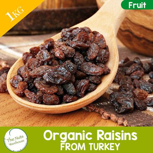 ORGANIC Raisins - 1kg