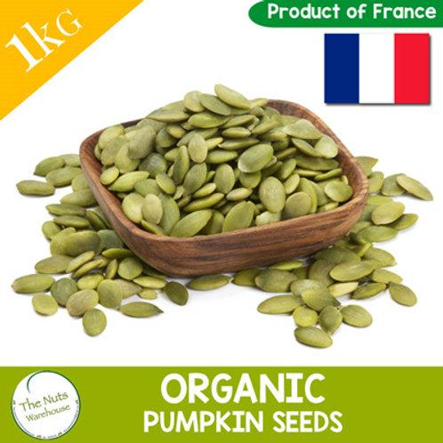 ORGANIC Pumpkin Seeds - 1kg