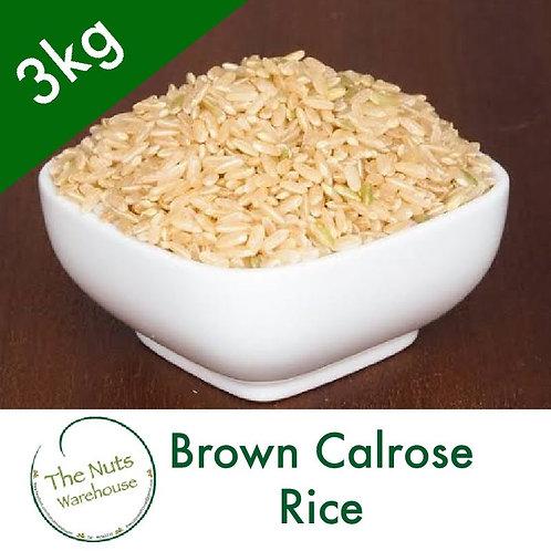 Brown Calrose Rice 3KG