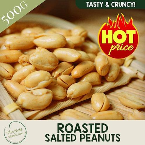 Roasted Salted Peanuts - 500g