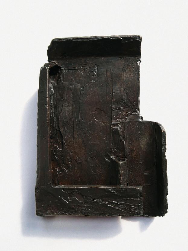 Bronze, 2019, 13 x 18,5 x 2,5 cm