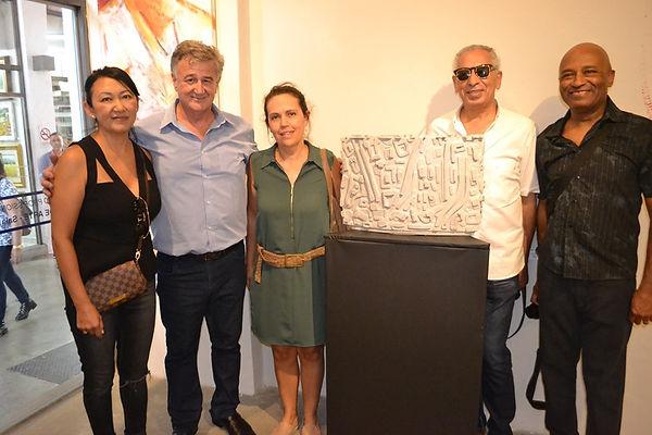 Artistas, Sandra Hiromoto, Osmar Carboni
