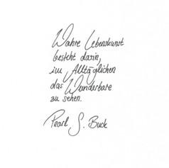 Laura - Handschrift