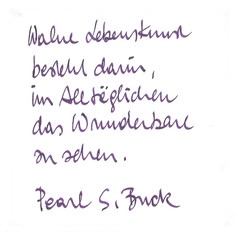Feuervogel - Handschrift