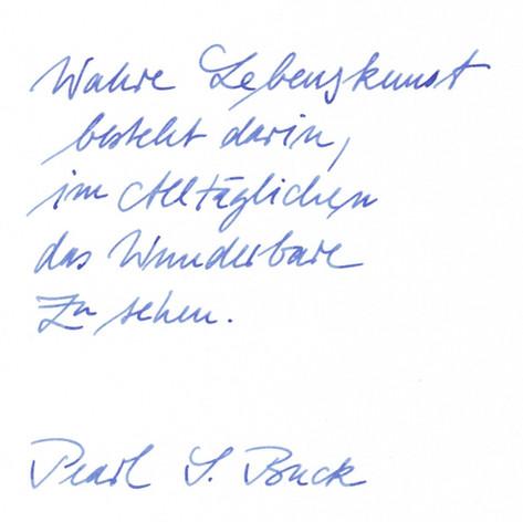 LF - Handschrift