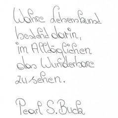 Cathy - Handschrift