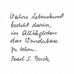 Eule - Handschrift