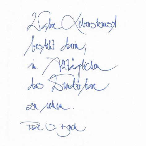 Handscript - Handschrift